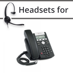Headsets for Polycom Soundpoint IP 320