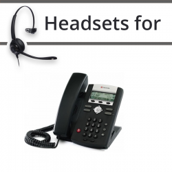 Headsets for Polycom Soundpoint IP 321