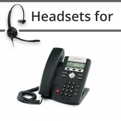 Headsets for Polycom Soundpoint IP 335