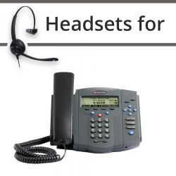 Headsets for Polycom Soundpoint IP 430