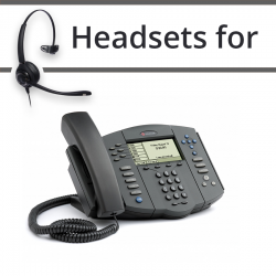 Headsets for Polycom Soundpoint IP 501