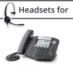 Headsets for Polycom Soundpoint IP 550