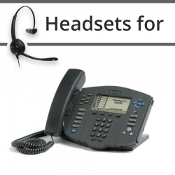 Headsets for Polycom Soundpoint IP 601
