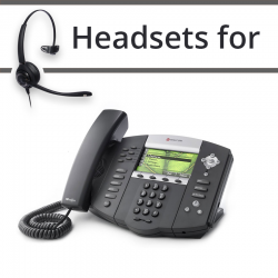 Headsets for Polycom Soundpoint IP 670