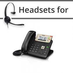 Headsets for Yealink SIP-T23G