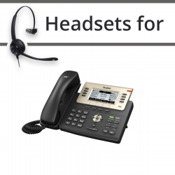 Headsets for Yealink SIP-T27P