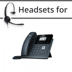 Headsets for Yealink SIP-T40P