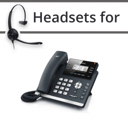 Headsets for Yealink SIP-T41S