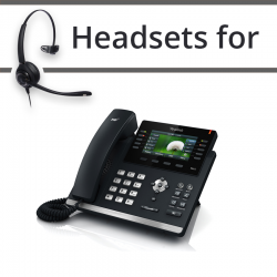 Headsets for Yealink SIP-T46G