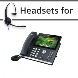 Headsets for Yealink SIP-T48S