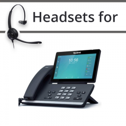 Headsets for Yealink T58A