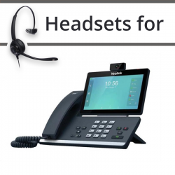 Headsets for Yealink T58V