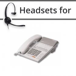 Headsets for Panasonic KX-T7250E