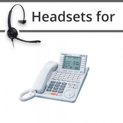 Headsets for Panasonic KX-T7436E