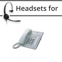 Headsets for Panasonic KX-T7720E