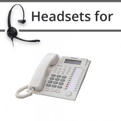 Headsets for Panasonic KX-T7735E
