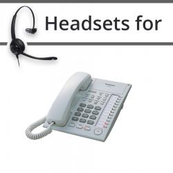Headsets for Panasonic KX-T7750E