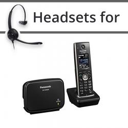 Headsets for Panasonic KX-TGP600