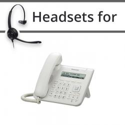Headsets for Panasonic KX-UT123