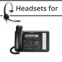 Headsets for Panasonic KX-UT133