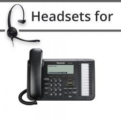 Headsets for Panasonic KX-UT136