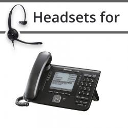 Headsets for Panasonic KX-UT248