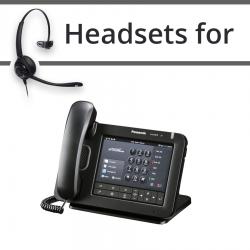 Headsets for Panasonic KX-UT670