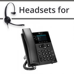 Headsets for Polycom VVX 250