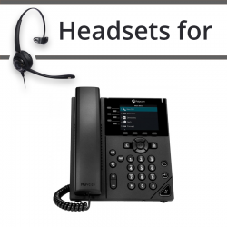 Headsets for Polycom VVX 350