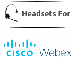 Headsets for Webex
