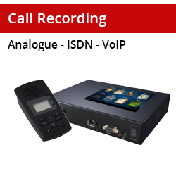Call Recording Equipment