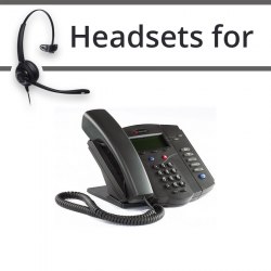 Headsets for Polycom VVX 300