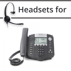Headsets for Polycom Soundpoint IP 500