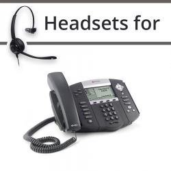 Headsets for Polycom Soundpoint IP 560
