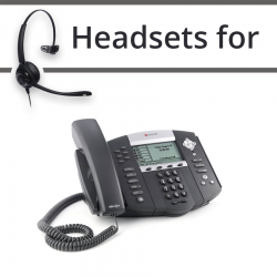 Headsets for Polycom Soundpoint IP 650