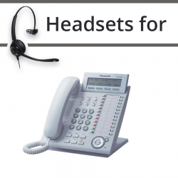 Headsets for Panasonic KX-DT343