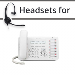 Headsets for Panasonic KX-DT543