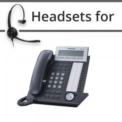 Headsets for Panasonic KX-NT343