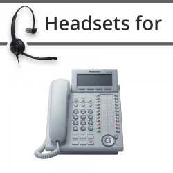 Headsets for Panasonic KX-NT346