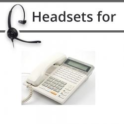 Headsets for Panasonic KX-T7230E
