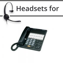 Headsets for Panasonic KX-T7420E