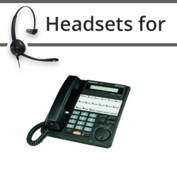 Headsets for Panasonic KX-T7431E