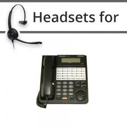 Headsets for Panasonic KX-T7433E
