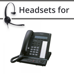 Headsets for Panasonic KX-T7630