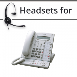 Headsets for Panasonic KX-T7633