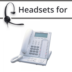 Headsets for Panasonic KX-T7636