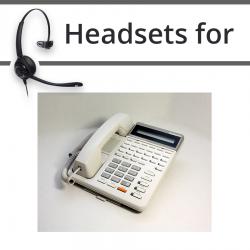 Headsets for Panasonic KX-T7130E