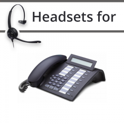 Headsets for Unify Siemens Optipoint 410 Economy Plus