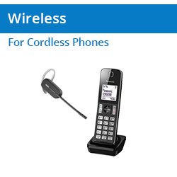 Wireless Headsets for Cordless Telephones