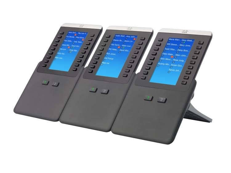 Cisco 8800 Series IP Phone Expansion Module